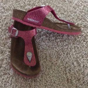 Girls Birkenstock Gizeh Sandals